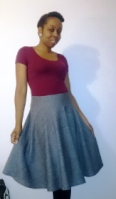 New Look 6311 – Bias Cut Circle Skirt